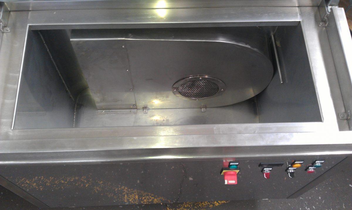 W8-10 Trockenofen für Galvanikgestelle / Heater / Dryer